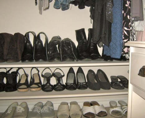 Classic Chic Home: Organization Series: My Bedroom Closet | Get Organized in the New Year | Scoop.it
