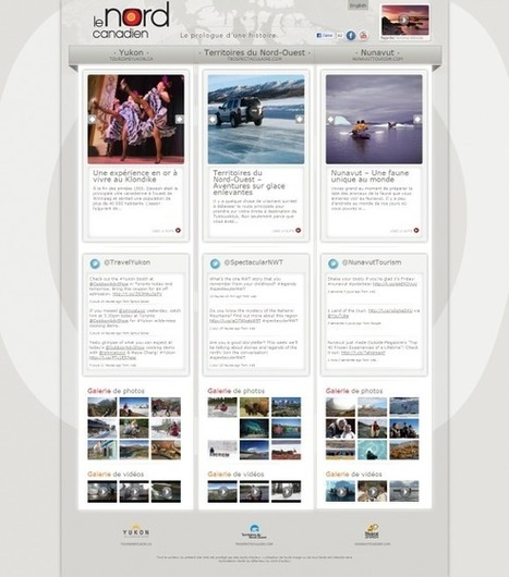 Février 2013 : Nouveaux sites web de destinations touristiques   LeWeboskop   Tourisme en France   Animation, accueil et promotion du territoire par les habitants   Scoop.it
