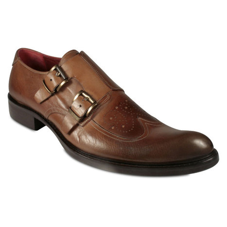Jo Ghost Men's Brown Leather Loafers | Designer Mens Shoes | Scoop.it