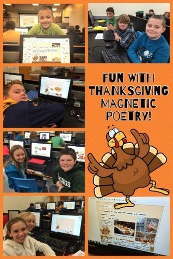 Edutech for Teachers: Thanksgiving Magnetic Poetry Wrap-up | 21st Century Technology Integration | Scoop.it