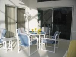The lanai - sit back and relax and have a lazy lunch, enjoy the sunshine   Our Florida House   Scoop.it