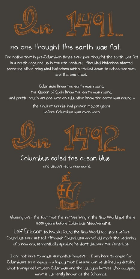 Christopher Columbus was awful (but this other guy was not) - The Oatmeal | Collateral Websurfing | Scoop.it