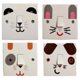 Stickers interrupteurs animaux - Stickers interrupteurs - Stickers Déco | stickers autocollants décoratifs | Scoop.it