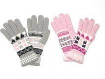 Wholesale Winter Knit Gloves W/ Patterns - at - AllTimeTrading.com   Winter Gloves   Scoop.it