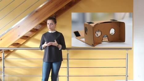 Louise Rizand - Vidéo Stage - La réalité augmentée au service de l'immobilier | Télécom Saint-Etienne | Scoop.it
