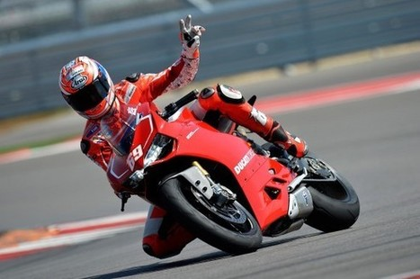 Pic of the day: Hayden testing the new Ducati at Mugello | Ducati & Italian Bikes | Scoop.it