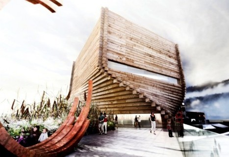 BIG Proposes Twisting Timber Eco Tower for the Kimball Art Center in Park City | Architecture and Urban Planning | Scoop.it