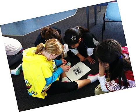 Exploring QR Codes with children | The CORE Education Blog | School Librarianship | Scoop.it