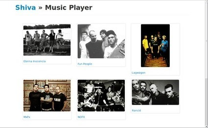 Shiva – More than a RESTful API to your music collection Mozilla ... | Next Web App | Scoop.it