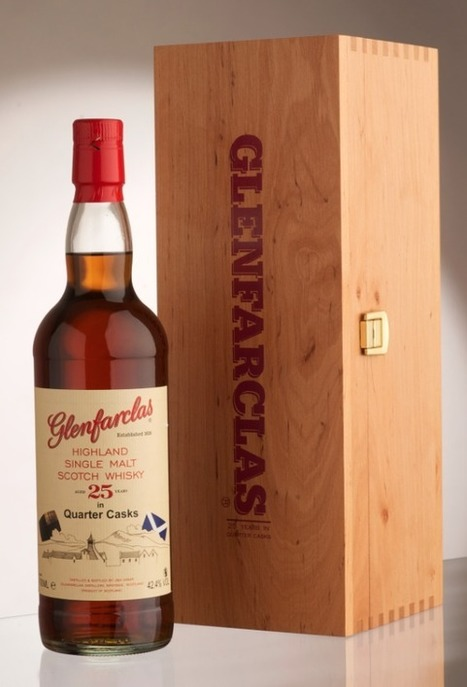 Glenfarclas to release 25 YO quarter-cask | Southern California Wine and Craft Spirits Journal | Scoop.it