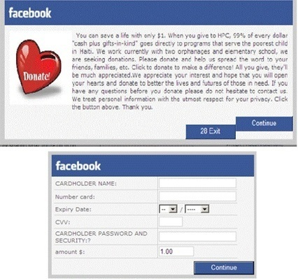 Facebook malware tricks users with charity donation requests – Computer Business Review | Digital Forensics, Inc. | Computer Forensics by Athena Forensics | Scoop.it