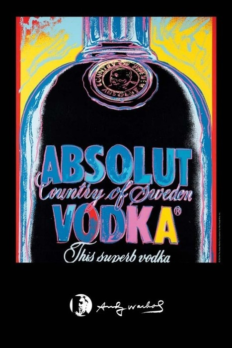 Absolut Andy Warhol Edition   MI Topic   Scoop.it