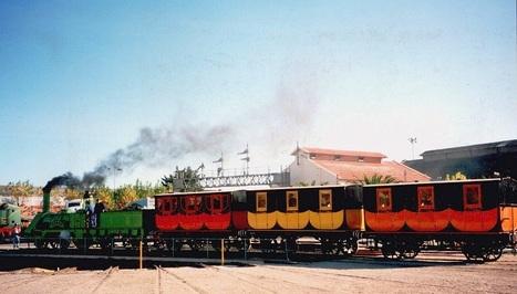 Celebración del primer tren en la España peninsular | Cultura de Tren | Scoop.it
