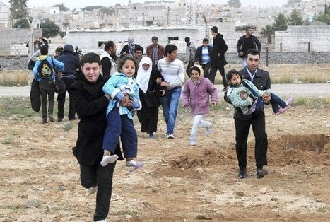 Friday: Syria border fighting sends 8,000 fleeing to Turkey   News from Syria   Scoop.it