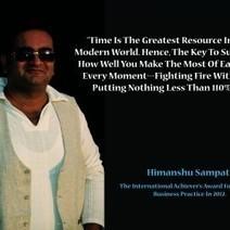 Mr. Himanshu Sampat - An entrepreneur of his own career.   Mr. Himanshu Sampat - An entrepreneur of his own career.   Scoop.it