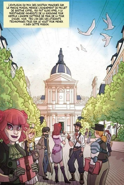 Les Magiciens du Fer, la BD Steampunk dont vous êtes le héros... - Comics Place | Headlines from Nath | Scoop.it
