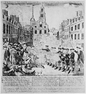 The bloody massacre perpetrated in King Street, Boston | DocsTeach: Documents | American Revolution | Scoop.it