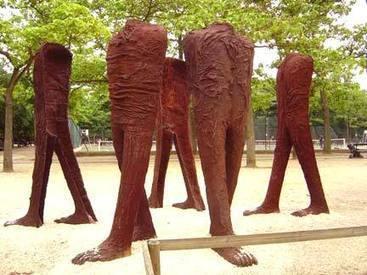 Magdalena Abakanowicz: Iron cast figures | Art Installations, Sculpture, Contemporary Art | Scoop.it