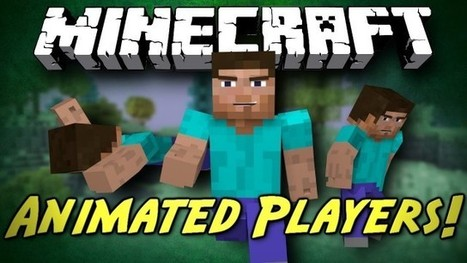 Animated Player Mod Minecraft Pocket Edition 0.8.1 – MCPE Mods   yeahhhhh   Scoop.it