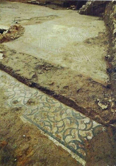 Descubierta en Astorga una domus romana con grandes mosaicos y la estatua de un fauno | opus vermiculatum | Scoop.it
