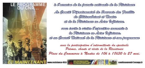 27 mai 2014 : Journée nationale de la Résistance - [Comité du Souvenir des Fusillés] | Histoire 2 guerres | Scoop.it