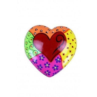 Hand Painted Ceramic Heart   Hand Painted Ceramic Heart   Scoop.it