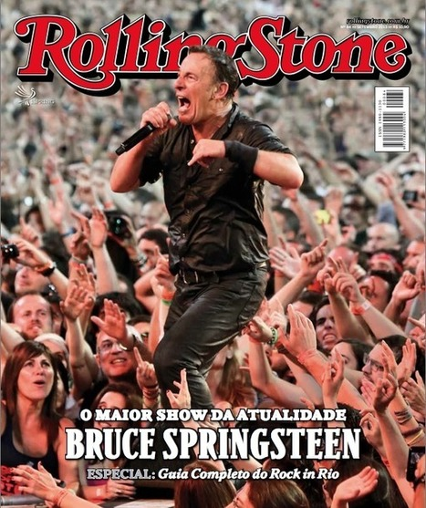 Bruce Springsteen makes the cover of the Sept. issue of the Brazilian Rolling Stone | Bruce Springsteen | Scoop.it