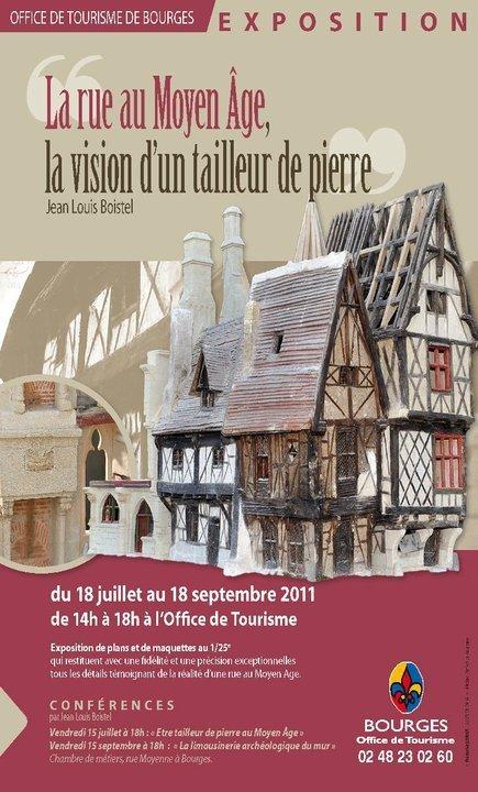 La rue au Moyen-Âge, la vision d'un tailleurs de pierre | GenealoNet | Scoop.it