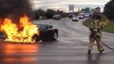 Yes, Teslas Can Catch Fire But Keeping Cool Is In Order | fire | Scoop.it