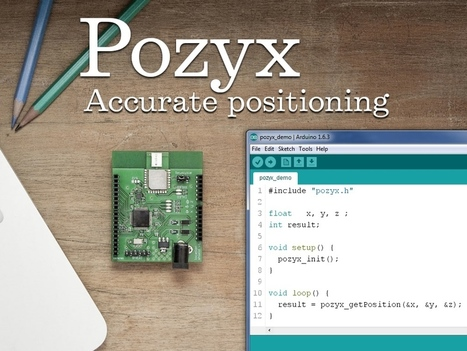 Pozyx: accurate indoor positioning for Arduino | Raspberry Pi | Scoop.it