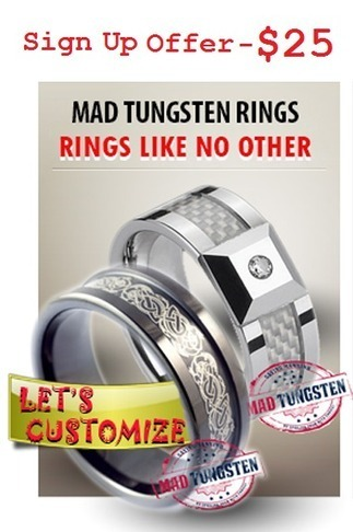Mad Tungsten Rings-Whats In Our Tungsten Rings | Tungsten Wedding Rings | Scoop.it