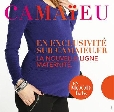 Camaïeu lance sa première collection maternité | Autour de la puériculture, des parents et leurs bébés | Scoop.it
