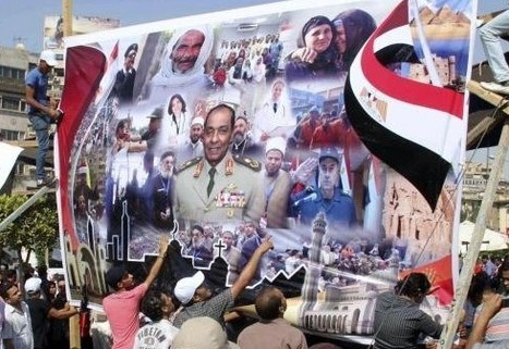 Posters back Egypt's military ruler for president | Égypt-actus | Scoop.it