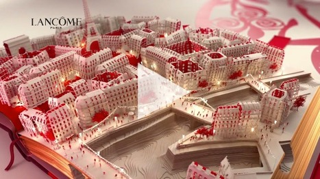 Lancôme fête le Nouvel An Chinois | Inspiration for 3D and MotionGraphics | Scoop.it