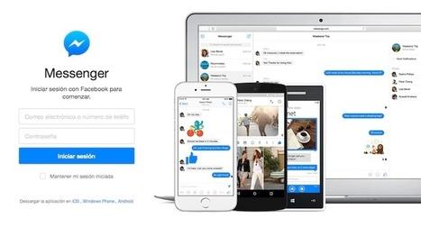 Facebook Messenger mostrará información acerca de los desconocidos que quieran hablar contigo | La red y lo social | Scoop.it