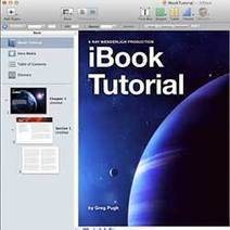 How To Make an eBook with iBooks Author Tutorial | Ray Wenderlich | iPads in high school | Scoop.it