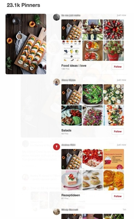 What You Need To Know About Pinterest's Activity Changes | Mastering Facebook, Google+, Twitter | Scoop.it
