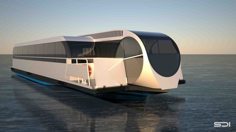 "La bateau-bus futuriste débarque à Calais | ""green business"" 