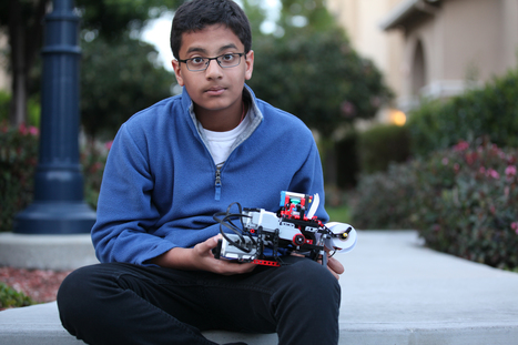 12-year-old builds low-cost Lego braille printer | Young Makers | Scoop.it