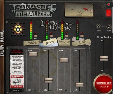 Earache Metalizer app now live on Spotify | MUSIC:ENTER | Scoop.it