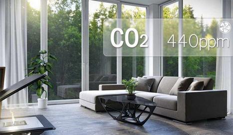 Pourquoi s'intéresser au CO2, indice incontournable de la qualité de l'air intérieur ? | Smart Building | Scoop.it