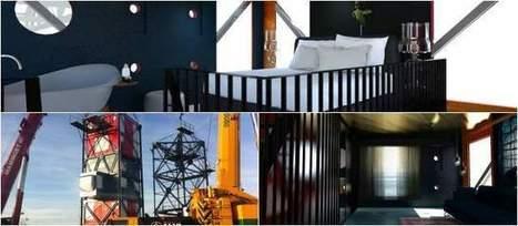El hotel grúa causa sensación en Holanda - El Colombiano   ⭐️Thematic Party #Entretenimiento⭐️   Scoop.it