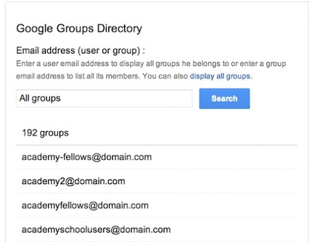 Google Groups Directory - Google Apps Script Examples | Google Apps Script | Scoop.it