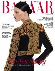 Laura Kampman in Ralph Lauren for Harper's Bazaar Korea April 2013 | TAFT: Trends And Fashion Timeline | Scoop.it