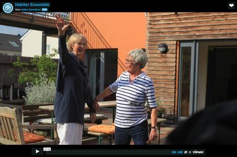Film sur le voyage en Allemagne d'Hal'âge : Habiter ensemble | Habitat groupé participatif | Scoop.it