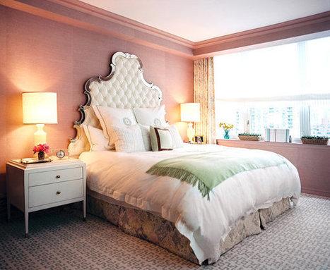 5 Ingredients for a Decadent Bedroom | Designing Interiors | Scoop.it