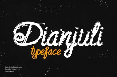 Grab a Dianjuli Typeface Font FREE Download ($12 Value) | Software Giveaway and Deals | Scoop.it