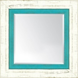French White and Torquoise - Reseller Mirrors Wall Décor Frames by Iconic Pineapple | Iconic Pineapple - Reseller of Mirrors, Traditional Prints, Giclee Art Prints, Big Fish, New Century Picture, Picture It | Scoop.it