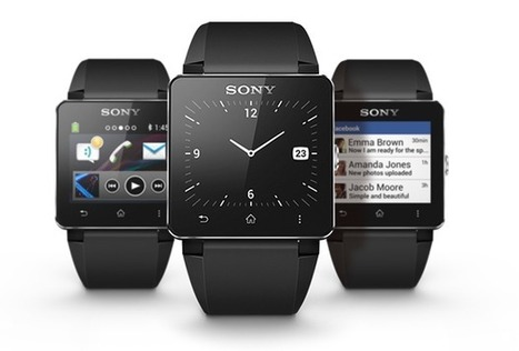Put some tech around your wrist – Sony SmartWatch 2 | Technology in Business Today | Scoop.it