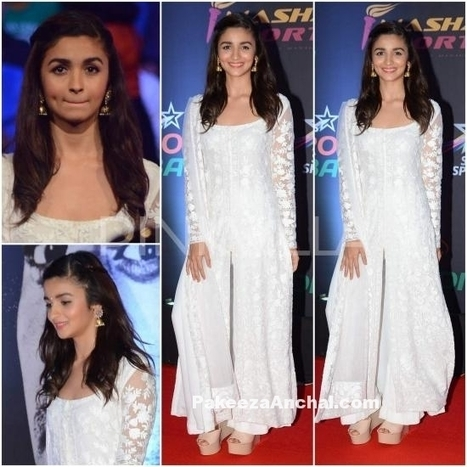 Alia Bhatt in Manish Malhotra's Outfit at Pro Kabaddi League 2015 | Indian Fashion Updates | Scoop.it